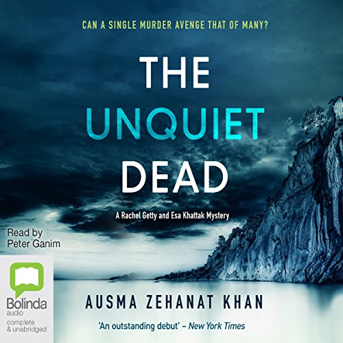 The Unquiet Dead audiobook cover art