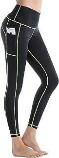 Women's Yoga Leggings Stretch High Waist Tummy Control Workout Sports Running Pants