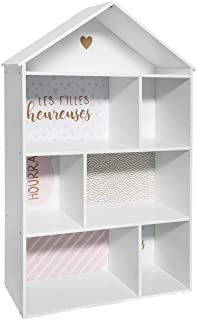 Meuble Maison 7 cases Rose Atmosphera for kids