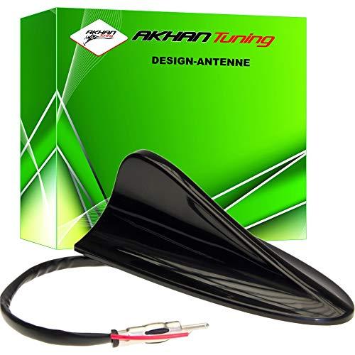 ANTB295 - SHARK ANTENA Antena Aleta de tiburón en forma antena de techo NEGRO AM - FM electrónica