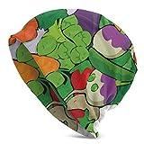 AEMAPE Gorro unisex con diseño de cráneo, color verde, vegano, cálido, unisex, para la cabeza