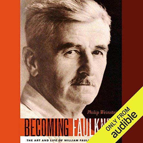 Becoming Faulkner audiobook cover art