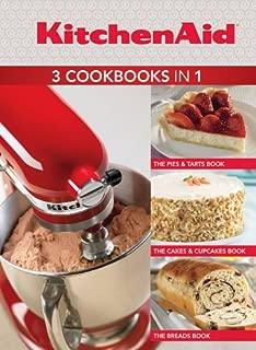 KitchenAid 3 Cookbooks in 1: Pies & Tarts; Cakes & Cupcakes; Breads