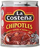 La Costena Chipotle Peppers in Adobo Sauce 199g