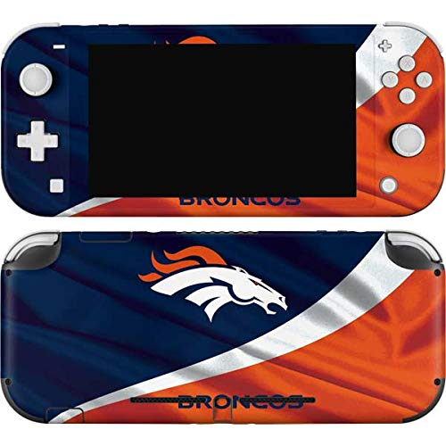 Skinit Decal Gaming Skin Compatible with Nintendo Switch Lite - Officially Licensed NFL Denver Broncos Design