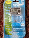 Sportline Walking Advantage 330 Step Count Pedometer With Large Electronic Display and Waist Clip
