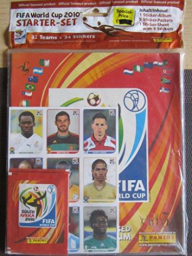 Panini World Cup 2010 Starter Set