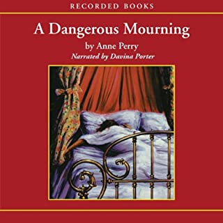 A Dangerous Mourning audiobook cover art