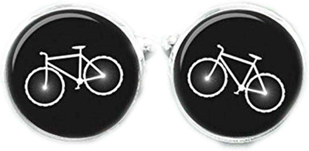 Death Devil Bike Cufflinks,Art Picture Cuff Links