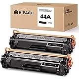 HIPAGE - Cartucho de tóner compatible con HP 44A CF244A para HP Laserjet Pro M15a M15w M16 M17w M17a HP Laserjet Pro MFP M28w M28a M29 M30a M30w (2 unidades), color negro