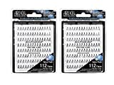 2 Set of 112 Ardell Multipack Individual Lashes, Knot-Free Medium bundled by Maven Gifts