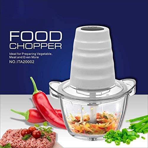 Küche multifunktionale klotze füllung fleischschleifmaschine elektrische glas mincer garlic hackte gemüse kochmaschine SLONGS