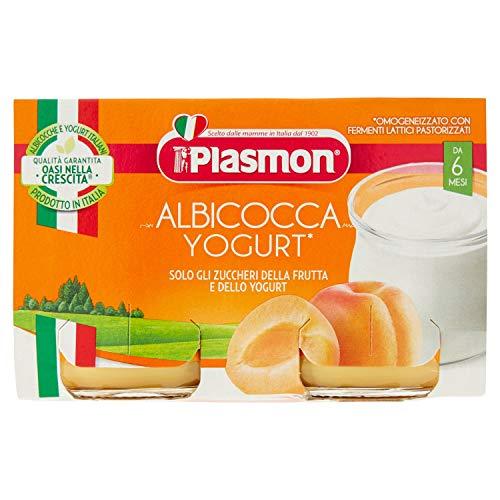 homogenisiert Omogeneizzato Yogurt Albicocca 120 Gr X 2 Pezzi