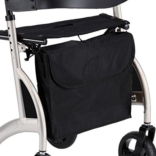 Ersatz-Einkaufstasche für Rollatoren mit Faltrahmen in X-Form, Lieferung mit Schultergurt