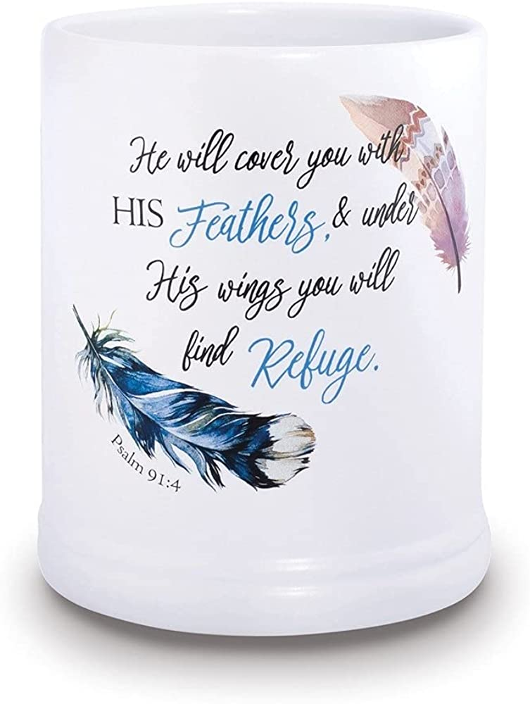 Diamond2Deal Elanze Designs Under Max Excellent 68% OFF His 91 Jar Candle Psalm Wings