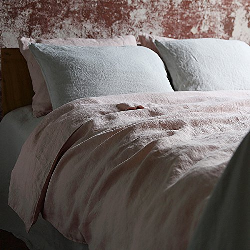 LinenMe Rosa Stone Washed Bed Linen Duvet 140x200cm, 100%