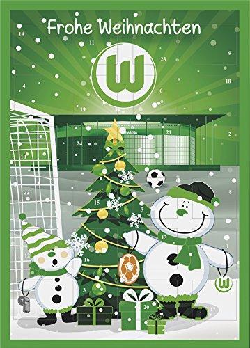 VfL Wolfsburg Adventskalender mit Schokolade