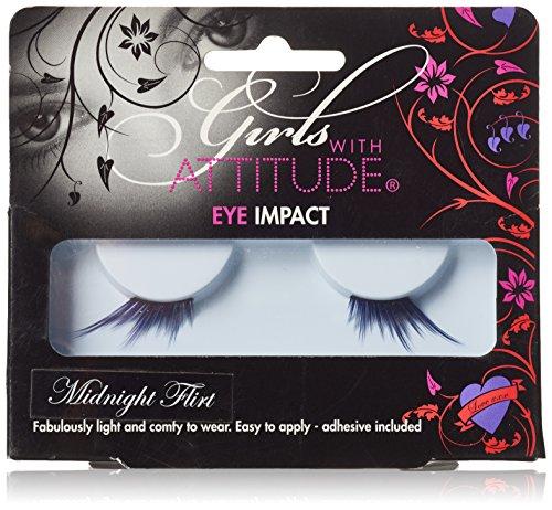 Girls with Attitude Midnight Flirt Eye Lashes Set