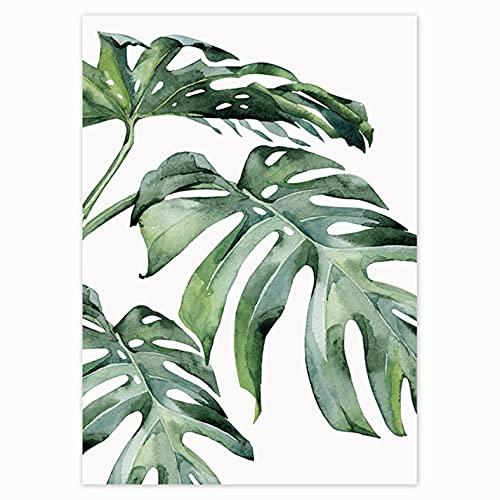5D DIY Peinture Diamant Point De Croix Kit D'artisanat plante tropicale de Forage Complet Adultes Strass collé Arts Craft Home Wall Decor 30 * 40 cm