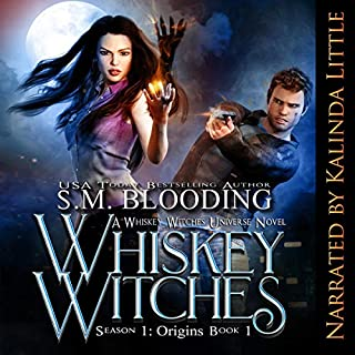 Whiskey Witches - Episodes 1-4                   By:                                                                                                                                 S. M. Blooding                               Narrated by:                                                                                                                                 Kalinda Little                      Length: 12 hrs and 16 mins     46 ratings     Overall 4.2