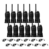 Case of 12,Retevis RT21 Updated 3000mAh 2 Way Radio Rechargeable, Heavy Duty Two Way Radio Long Range, 16CH VOX Handfree Adults Walkie Talkies for Business Retail Contractor Agriculture