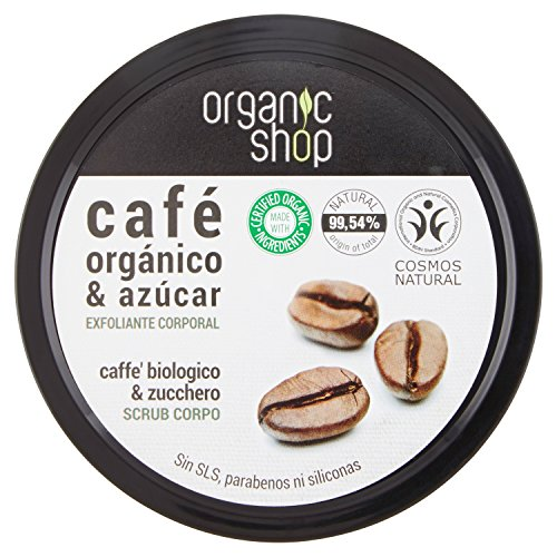 Exfoliante Corporal - Brazilian Coffee - Organic Shop