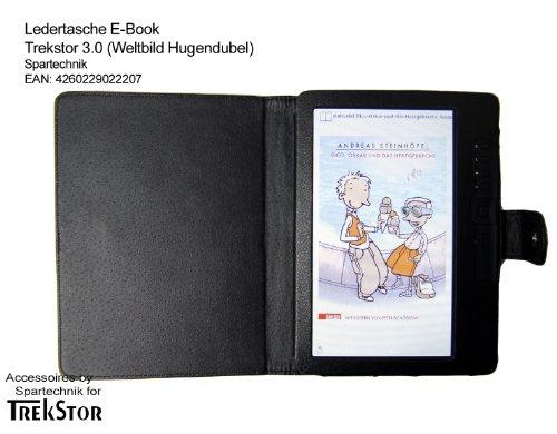Spartechnik Tasche für Trekstor 3.0 von Hugendubel Weltbild Jonkers E-Book Reader - bestes Case für E-Book Reader Trekstor 3 - Elektronisches Buch schwarz