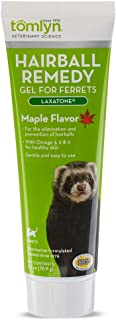 TOMLYN Laxatone Maple-Flavored Hairball Remedy Gel for Ferrets, 2.5oz