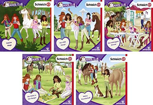 Schleich - Horse Club CD 06 - 10 im Set - Deutsche Originalware [5 CDs]