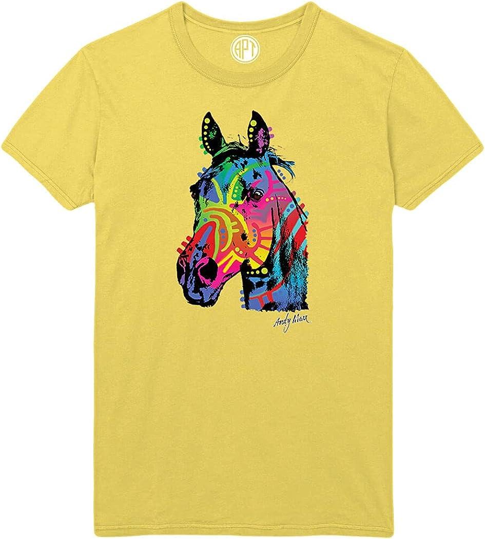 Rainbow Horse Printed T-Shirt