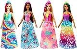 Barbie Dreamtopia Muñeca Hada con top rosa y falta flores (Mattel GJK13) , color/modelo surtido