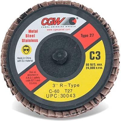 CGW Abrasives 30040 Mini Quick Change Boston Mall Disc 2