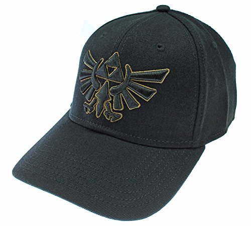 Price comparison product image Zelda Nintendo Logo Black Flex Cap HAT