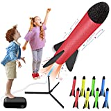 CPSYUB Kids Toys, Rocket Launcher Toys with 8 Rockets - Shoot up to 100 Feet, Kids Gifts for 4, 5, 6, 7, 8, 9, 10, 11 Year Old Boys, Girls