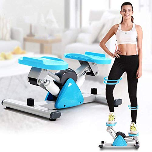 ZLXLX Equipo de deportes de interior Stepper, Fitness Pedal Fitness Home Fitness Stepper con capacidad de carga de 250 kg, Equipo de fitness aeróbico casero Cinta de correr hidráulica con pantalla di