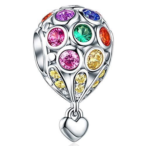 charm pandora originali colorati