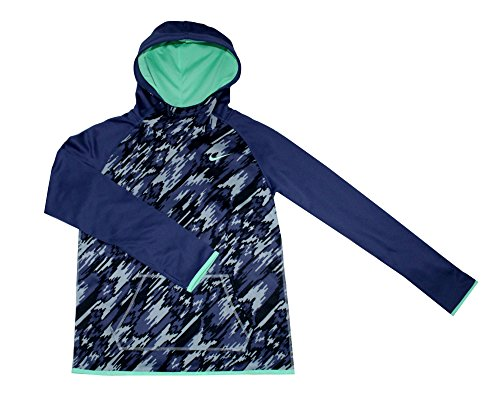Nike Youth Girls Therma-Fit Hoodie Athletic Hoody Shirt 903742-010 (M 10/12)