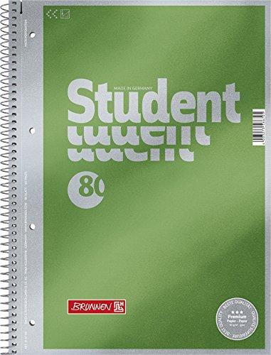 Brunnen, 1067174Blocco note/quaderno, Premium Duo, raffinata copertina con effetto metallizzato A4