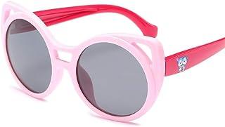 Yiph-Sunglass - Sunglass Fashion Gafas de Sol para niños Dibujos Animados Mar al Aire Libre Protector Solar UV400 Gafas de Sol polarizadas Gafas de Sol polarizadas de Moda El Color deslumbra Evita los Rayo