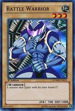 YU-GI-OH! - Battle Warrior (NUMH-EN025) - Number Hunters - 1st Edition - Super Rare
