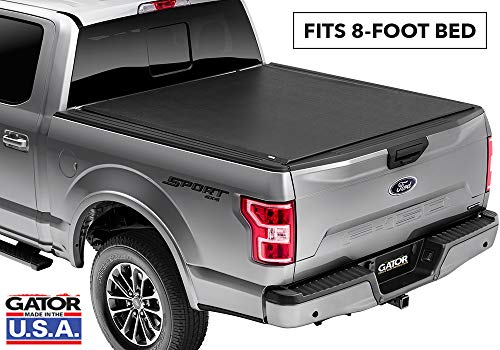 Gator ETX Soft Roll Up Truck Bed Tonneau Cover | 53310 | Fits 2017 - 2020 Ford F-250/F-350/F-450 Super Duty  8' Bed Bed | Made in the USA