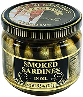 Riga Gold Smoked Sardines in Oil 270g (2-pack)