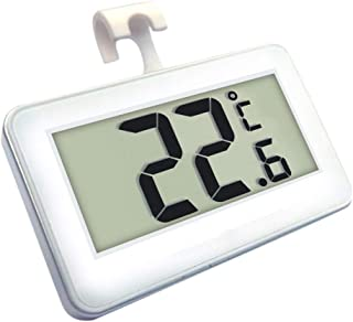 ESjasnyfall blanco 1 unids Term/ómetro de Nevera Hogar hogar Nevera Congelador Refrigerador Term/ómetro de Refrigeraci/ón M/ás Nueva B/úsqueda Caliente