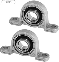 35mm Cojinetes con Soportes para: fresadora, Impresora 3D, Bricolaje. 2 Unidades de Rodamientos con Soporte UCFC 207 Cojinete de Bolas para Eje de Pack 2 DOJA Industrial