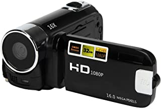 AKDSteel Camera Camcorders, 16MP High Definition Digital Video Camcorder 1080P 2.7 Inches TFT LCD Screen 16X Zoom Camera R...