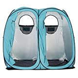 Quictent Oversize 2 Room Pop Up Automatic Rod Bracket Shower Tent