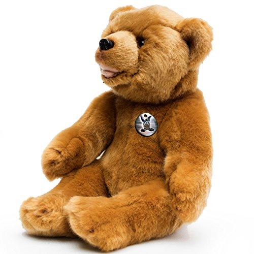 Bär JOGI sitzend Grizzly Braunbär Teddy 30 cm Plüschtier von Kuscheltiere.biz