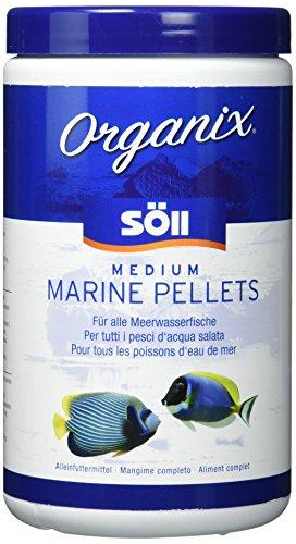 Söll 17867 Organix Medium Marine Pellets, Zierfischfutter, 1er Pack (1 x 1000 ml) - 1 L