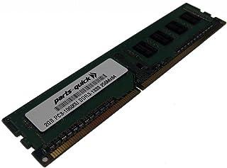 parts-quick 2ギガバイトのメモリは、ASUS P8マザーボードP8Z68 デラックス / GEN3 DDR3 PC3-10600 1333 DIMM非ECCデスクトップRAMのためのアップグレード