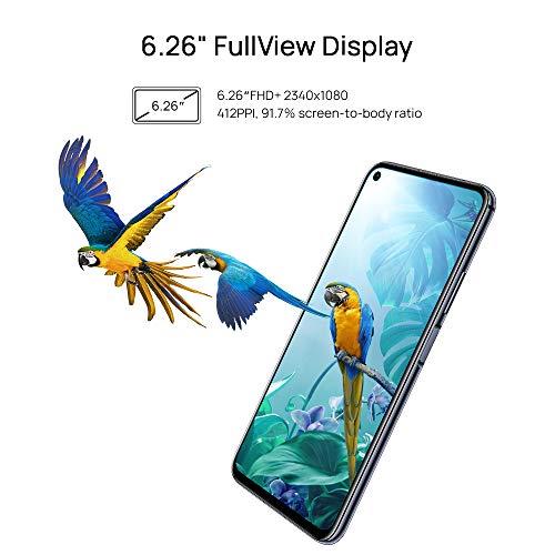 Huawei Nova 5T Smartphone débloqué 4G (6,26 pouces - 128Go ROM - Double Nano-SIM - Android) Noir